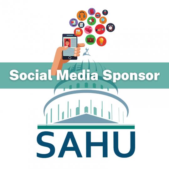 SAHU 2021 Social Media Sponsor Opportunity