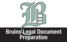 bruins legal document preparation