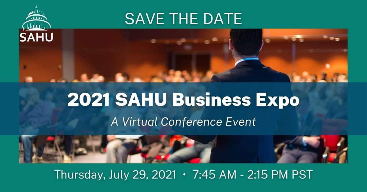 The 2021 SAHU Business Expo July 29, 2021