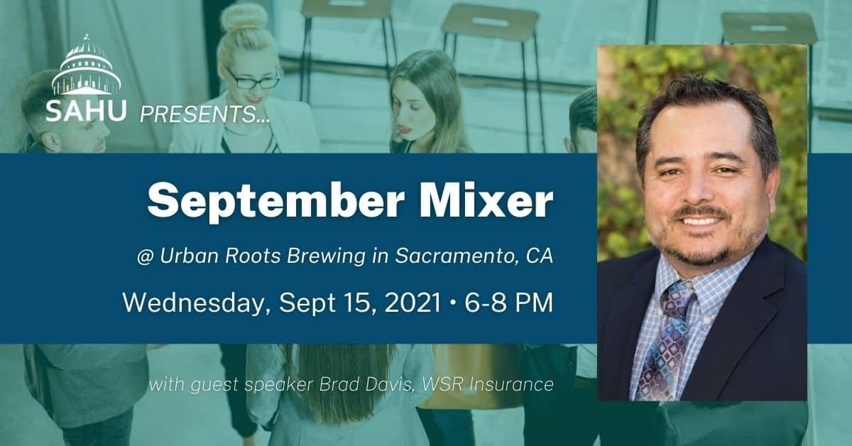 SAHU September 2021 Mixer Event