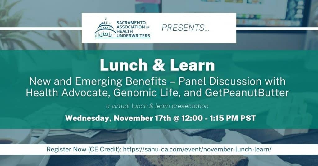 SAHU November Lunch and Learn